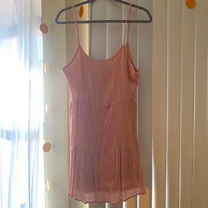 H&M Pink Sun Dress Size L